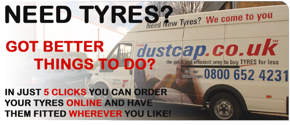 Needs Tyres? Got better things to do? Order your tyres online and have them fitted wherever